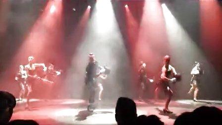美式踢踏爵士手舞机械多媒体混搭舞蹈
