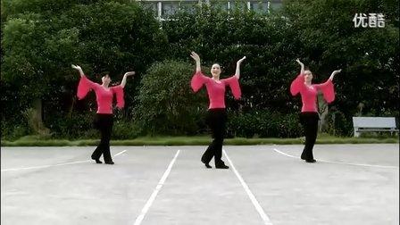 广场舞《山里红》广场舞教学