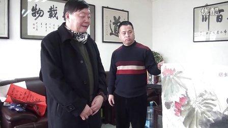 """江改银:中国公安""""第一笔""""著名书画家衡新华作品欣赏"""