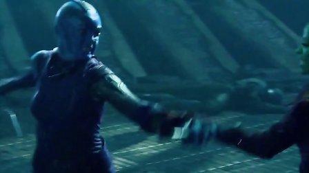 《银河护卫队》人物介绍花絮之加美拉Gamora 阿凡达女星佐伊·索尔达娜