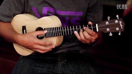 Corey Fujimoto- The Rain - Hawaiian Ash Koolau Tenor Ukulele