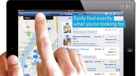 Booking.com 全球酒店预订-iPad应用程序