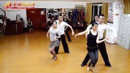 深圳国标舞培训班福田校区国标舞拉丁舞伦巴教学视频