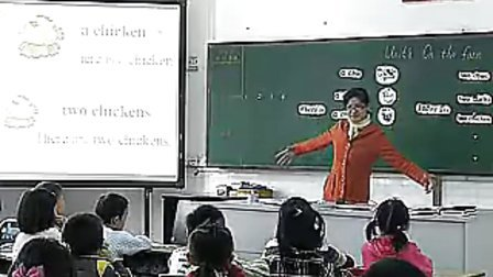 二年级英语 On the farm深港版小学英语二年级优质课视频专辑