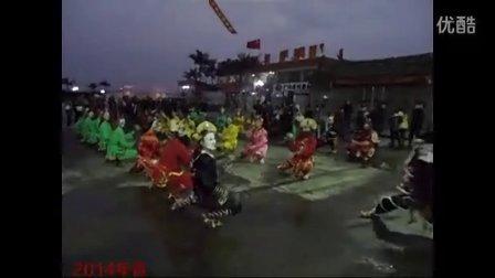 2014年普宁市占陇镇正月十五早上下村英歌图片集