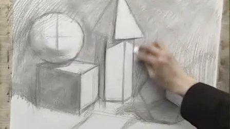 [中国美术学院:郭健濂主讲:素描基础训练].郭健濂. 视频教程 共2讲 第一集.avi