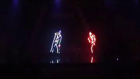 深圳最新酷炫劲爆暖场气氛节目 全彩电光舞表演小鱼 13925293136
