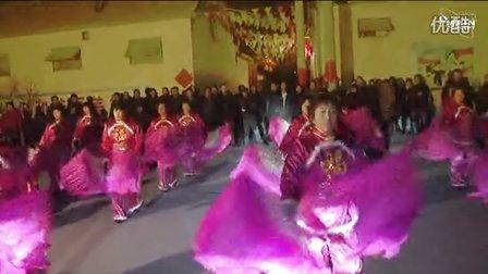 广饶街道耿家广场舞欢天喜地、欢乐中国年、千红万红满堂红
