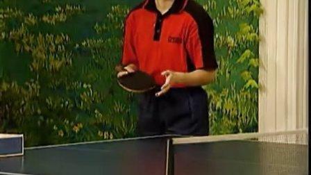 《乒乓球直拍》11 直拍发转不转球