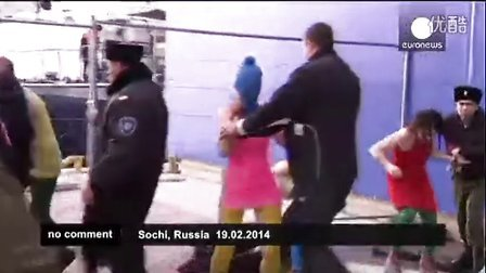 Pussy Riot attacked by Cossack militia at Sochi Olympics
