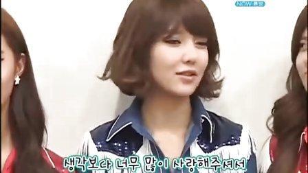 少女时代 101210 MBC Megazine1 少女时代 VS Kara