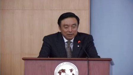 马蔚华演讲中国银行业面临五大挑战
