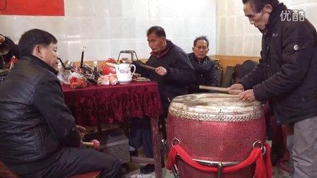 大埔英雅谢氏济美堂初十汉乐吹奏八音大锣鼓