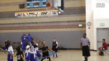 看看美帝国小学2年级的篮球水平!!!