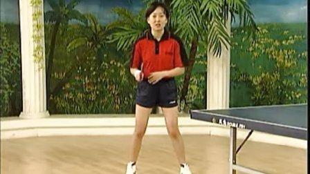 《乒乓球直拍学习》03 基本准备姿势