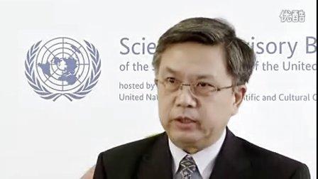 联合国科学顾问委员会中国唯一成员龚克先生接受采访