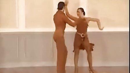 2002斯拉维克&卡琳娜桑巴舞教学9 基本套路