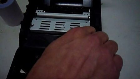 HENGLI  衡力 RP76-P色带架与打印纸安装