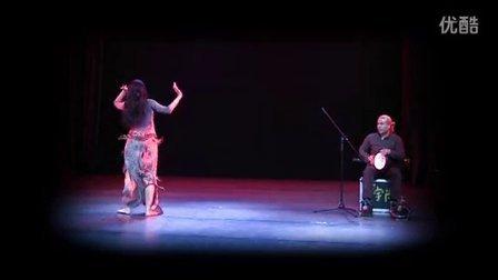 20131112俄罗斯肚皮舞大师AIDA和中东鼓大宇老师重庆的演出合作,感谢分享