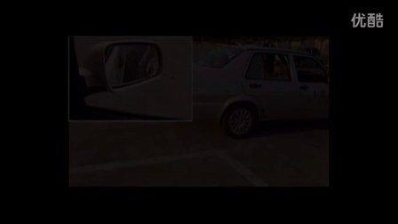 2014驾考科二视频_2014考驾照科目二倒车入库时怎么调整左右后视镜方向学车视频视频