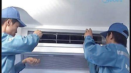 美的空调安装视频_高清