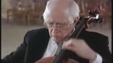 罗斯特罗波维奇 巴赫大提琴组曲第4号