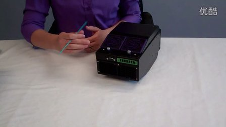 FireJet FJ200 UV LED Curing Product Demonstration - Phoseon