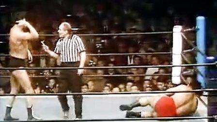 1974-12-12 新日本摔角 アントニオ猪木 vs ストロング小林 (NWF世界重量級選手権試