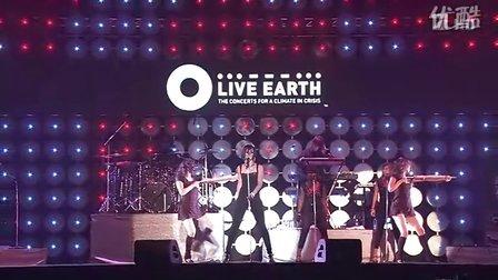 Rihanna - Umbrella (live earth) Tokyo高清LIVE