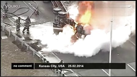 Truck driver miraculously survives dramatic crash
