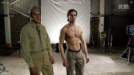 Captain America:the first Avenger花絮——瘦小的steve
