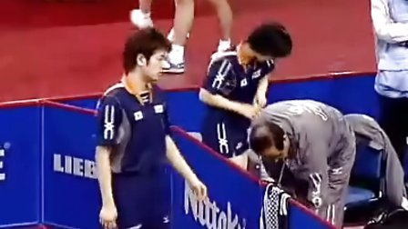 刘国正白杨VS坂本龙介福原爱 48届世乒赛混双