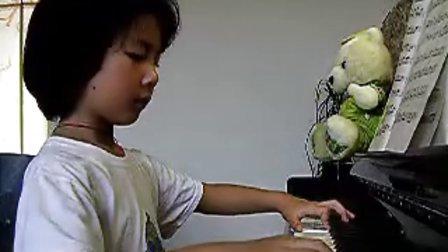 钢琴演奏 土耳其进行曲 王予_tan8.com