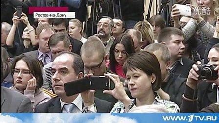 Виктор Янукович появился перед...