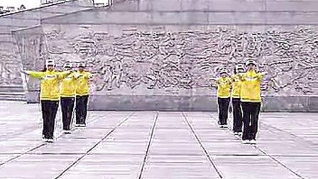 鸡西市第三套行进有氧健身操 (晚操)_标清_3