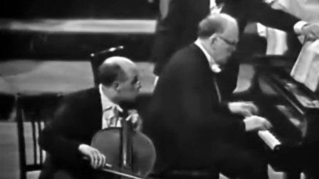 罗斯特罗波维奇、里赫特 贝多芬第4号大提琴奏鸣曲