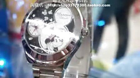 淘宝网迪士尼产品专卖店米奇手表901723精彩介绍视频