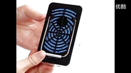 便携式迷你掌上空调小风扇冷风机USB充电 小型手持无叶制冷电风扇