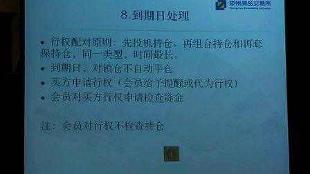 (第一期)期权交易规则草案解读