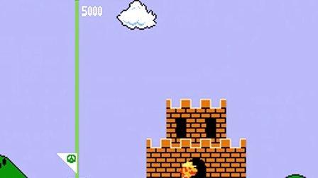NES欧州版『スーパーマリオブラザーズ(Super Mario Bros.)』二周目