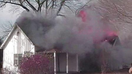 科特高防火涂料-房屋控制燃烧测试