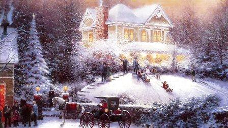 When Christmas Comes to Town  极地特快  我原创的MV