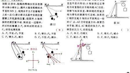 高三物理相互作用2-10矢量图解法和相似三角形法