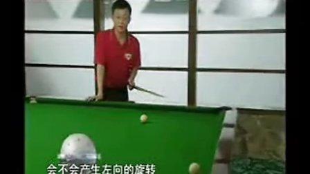 庞卫国台球教程--怎样打贴边球、造障碍球