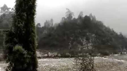 2008年家乡的一场雪