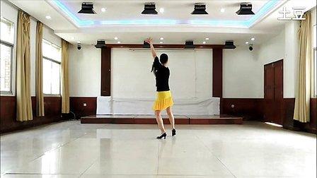 王梅编舞演示的桑巴舞教学版
