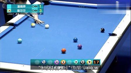 2014 安利杯第三天2 潘晓婷 vs 刘莎莎