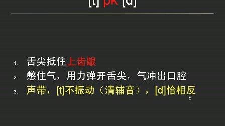 【音标视频专辑第1讲】国际音标发音:6个爆破音及其连读浊化现象Ace老师_YY80181