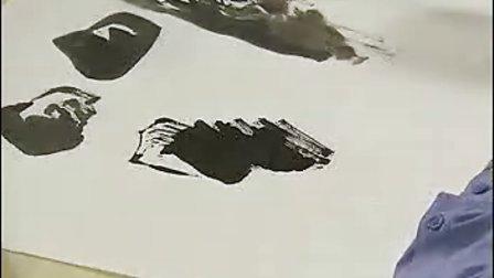 画山水 7 石—体积与层面