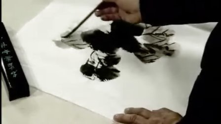 花鸟画技法 14 丝瓜